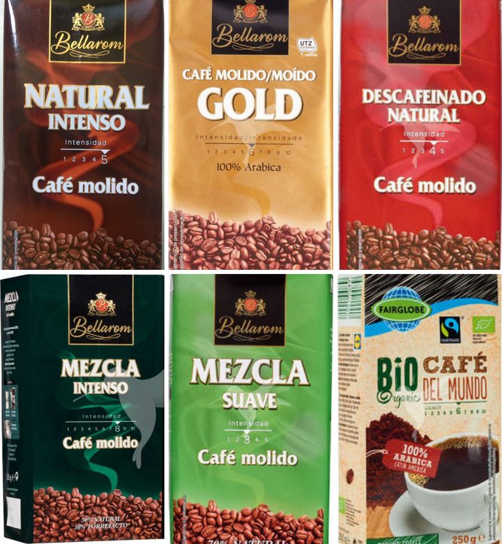 Cafés de Lidl marca Bellarom.