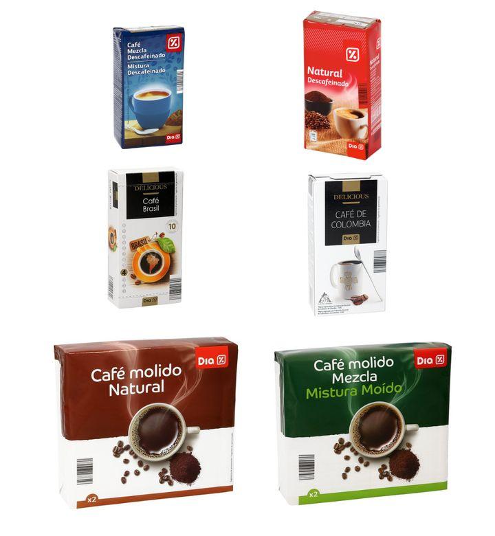 Cafés marca Dia.