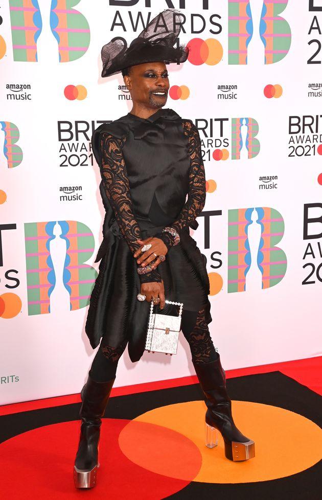 Billy at last week's Brit Awards