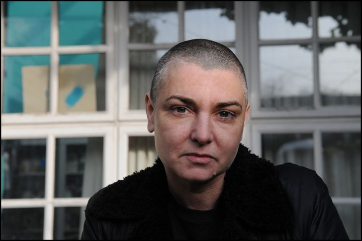 Sinead O'Connor posed at her home in County Wicklow, Republic Of Ireland in 2012.