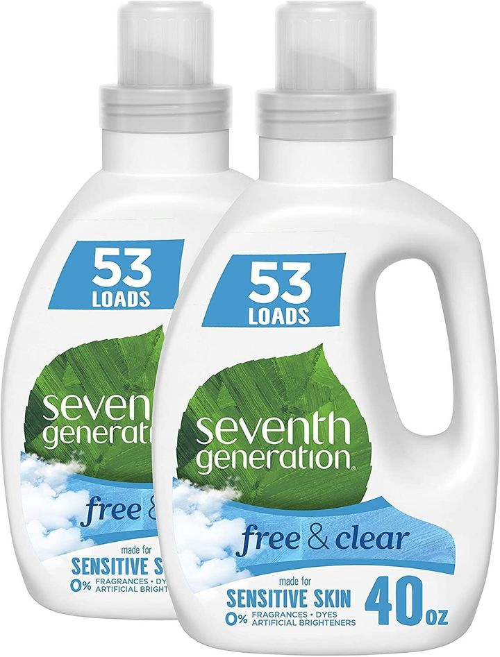 """<a href=""""https://amzn.to/3f74z9L"""" target=""""_blank"""" rel=""""noopener noreferrer"""">Get the&nbsp;Seventh Generation Concentrated Laundry Detergent for $25.99.</a>"""