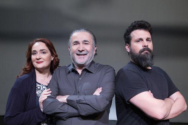 Ελένη Ουζουνίδου, Λάκης Λαζόπουλος, Σπύρος