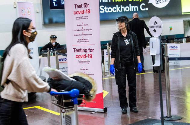 Comment seront remboursés les tests réalisés à l'étranger, comme ici...