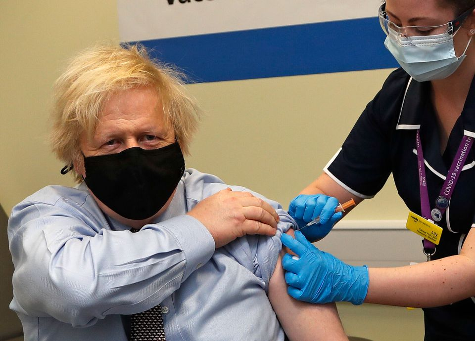 The PM is likely to try and focus minds back on the success of the vaccine