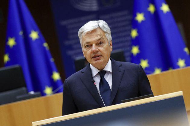 El comisario europeo de Justicia, Didier Reynders, en una imagen de