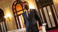 Pere Aragonès, investido presidente de Cataluña con el apoyo de Junts y la