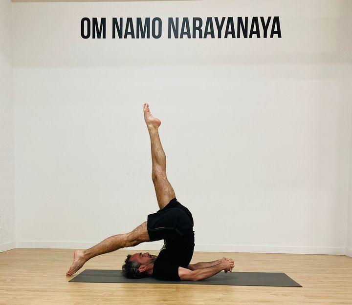 Asana de yoga.