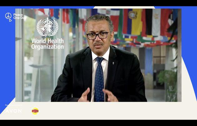 El director general de la OMS, Tedros Adhanom