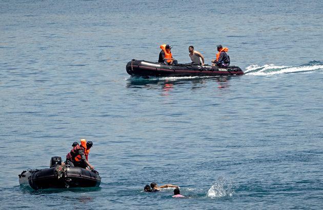 Rescate de personas en el agua este