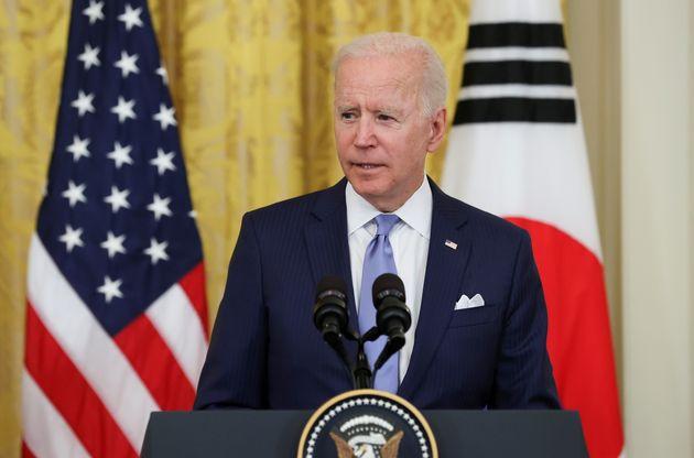 Joe Biden, ici à la Maison Blanche à Washington aux États-Unis, le 21 mai