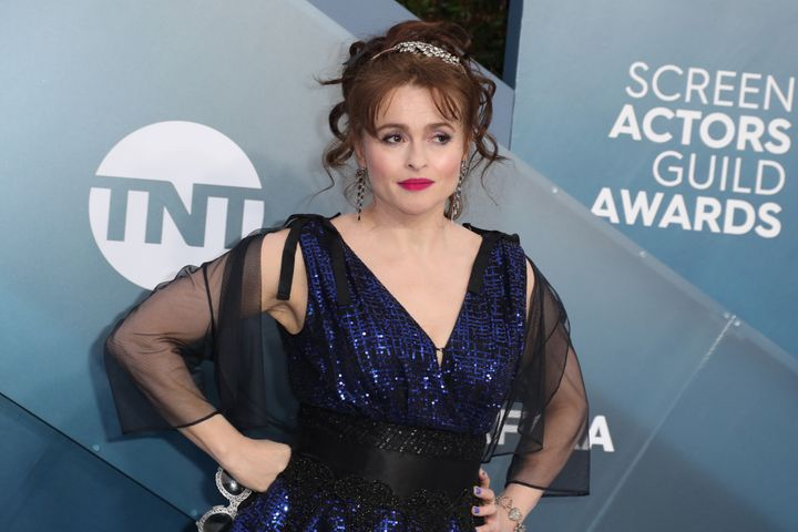 Helena Bonham Carter at the 26th Annual Screen Actors Guild Awards in January 2020 in Los Angeles.