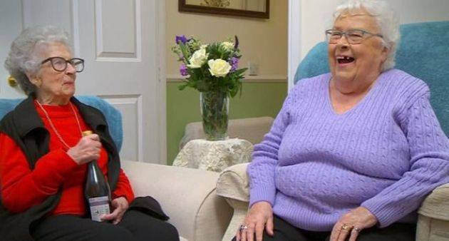 Mary And Marina Finally Returned To Gogglebox And Were Naughtier Than Ever Before