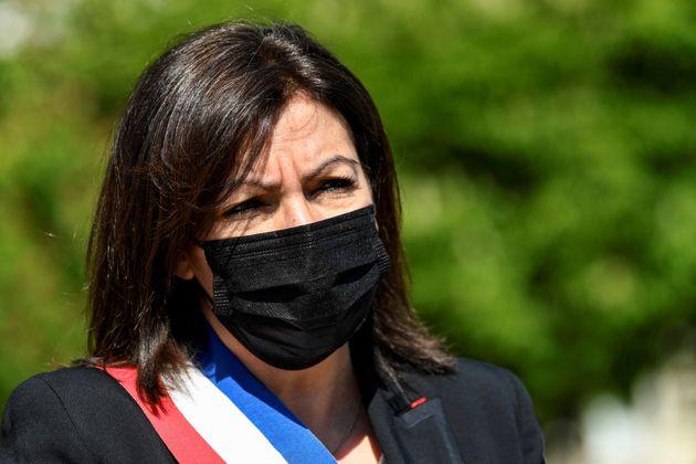 Anne Hidalgo photographiée à Paris le 21 avril