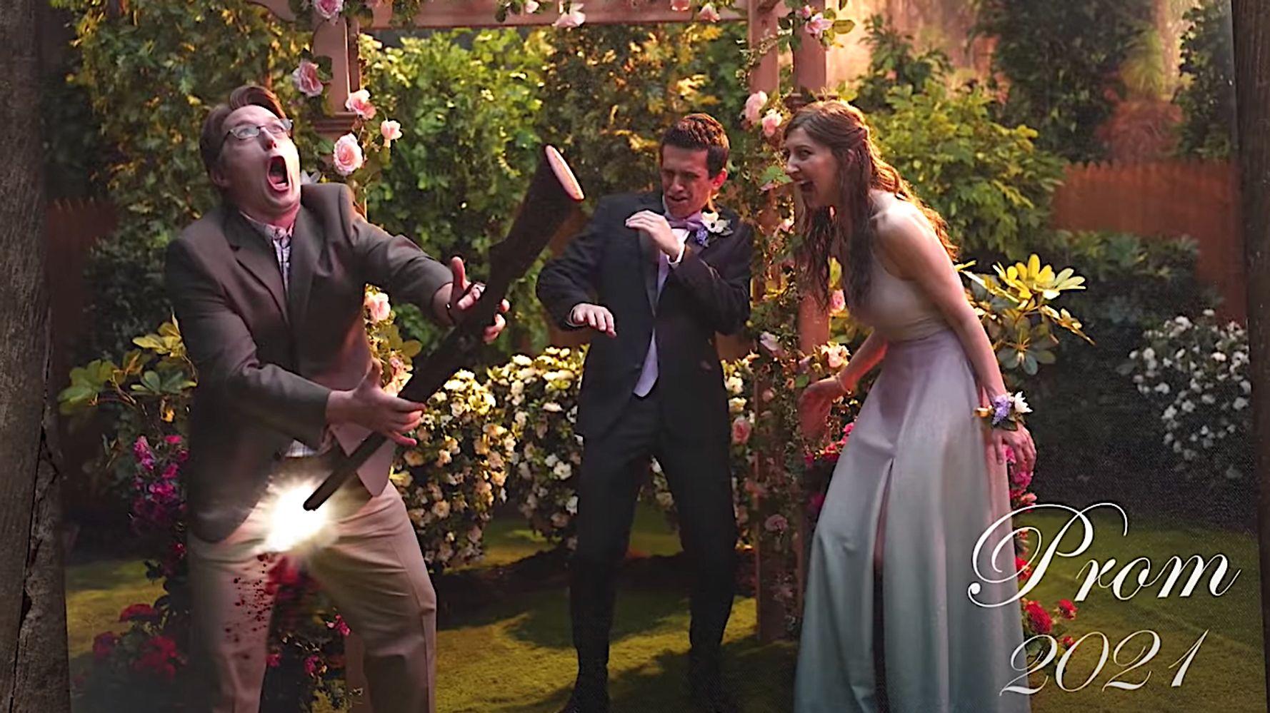 Beck Bennett Blows Off Family Jewels Recreating Georgia Gov. Gun Stunt On 'SNL'
