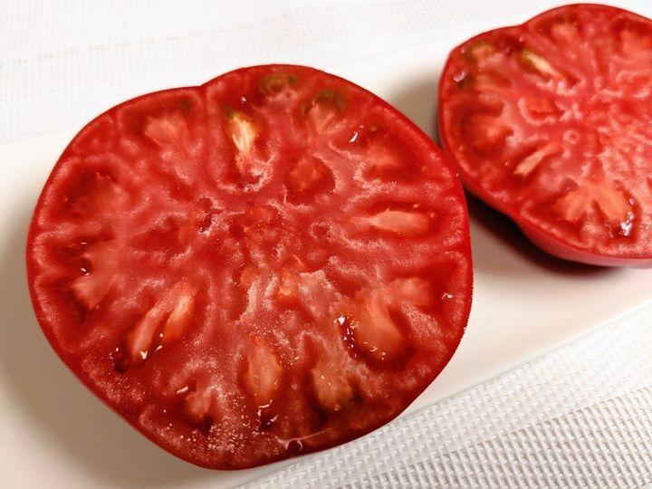 '어둠에 빠진 토마토' 단면