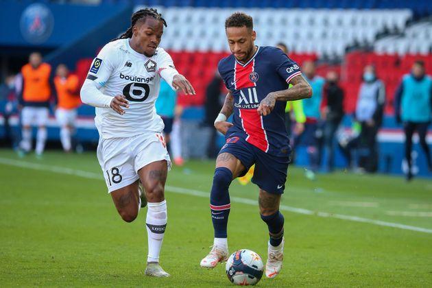 Renato Sanches du Losc et Neymar du PSG s