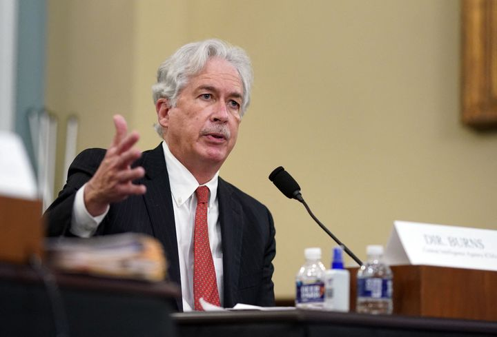 CIA Director, William Burns, testifies during a House Intelligence Committee hearing about worldwide threats, on Capitol Hill