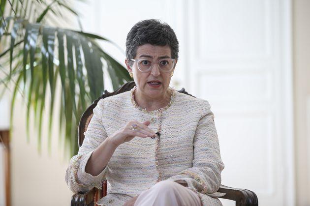 La ministra de Asuntos Exteriores, Arancha González