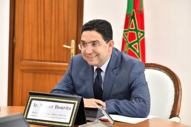 Naser Burita, ministro de Exteriores de Marruecos, en una imagen facilitada por su propio