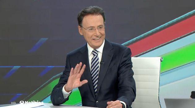 Matías Prats en 'Antena 3 Noticias Fin de