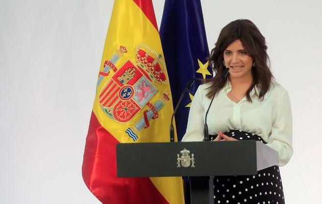 La escritora Ana Iris Simón, autora de 'Feria' en la presentación 'Pueblos con