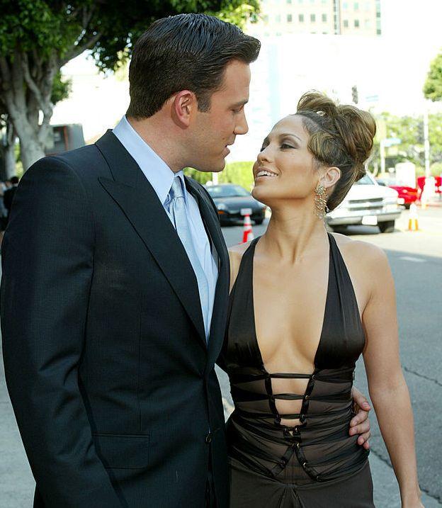 Jennifer Lopez y Ben Affleck en