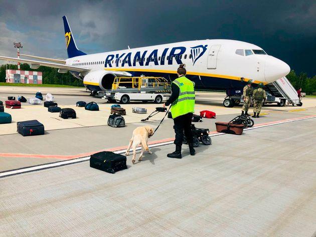 El vuelo de Ryanair en