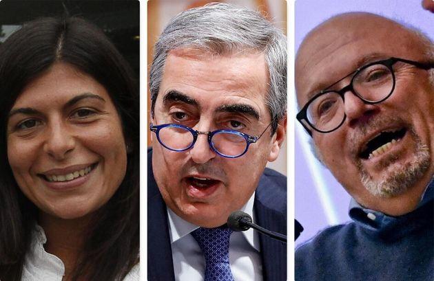 Chiara Colosimo, Maurizio Gasparri e Francesco