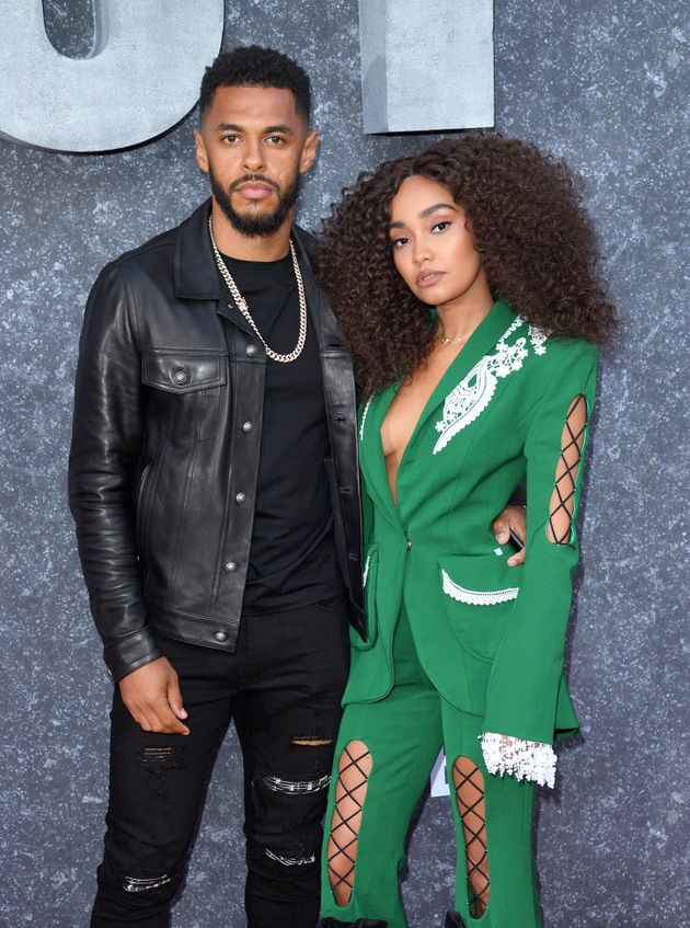 Andre Gray and Leigh-Anne