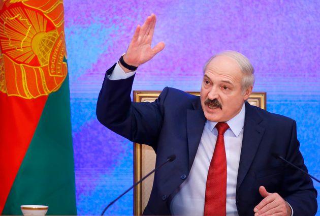 El presidente de Bielorrusia, Alexander