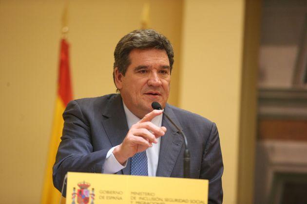 El ministro de Inclusión y Seguridad Social, José Luis