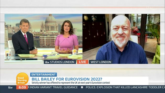 Bill Bailey Reveals Why He Had A Eurovision Song Turned Down By The BBC