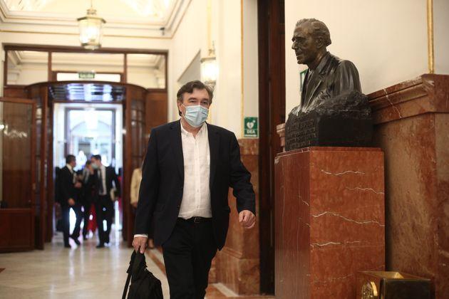 El diputado de Teruel Existe, Tomás Guitarte, en una imagen de junio de