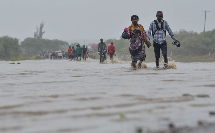 Heavy rains unleashed powerful, historic floods in Mozambique in 2019.