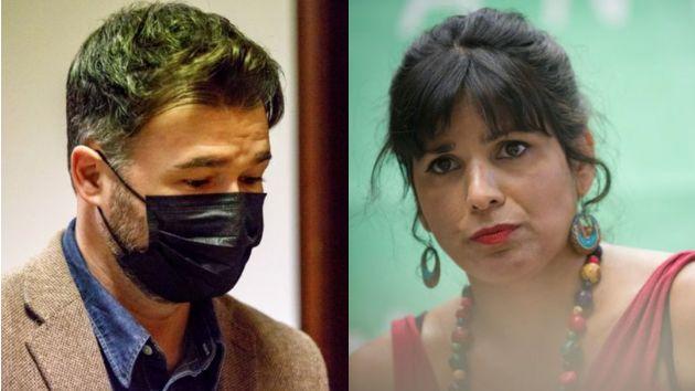 Gabriel Rufián y Teresa