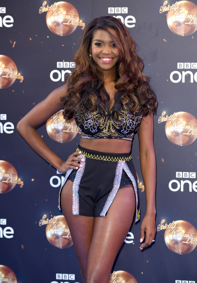 Oti Mabuse at the Strictly press launch in