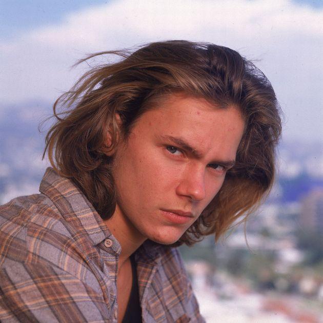 リバー・フェニックス。1993年に23歳の若さで亡くなった