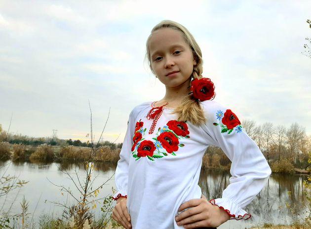 ウクライナのオレクサさん