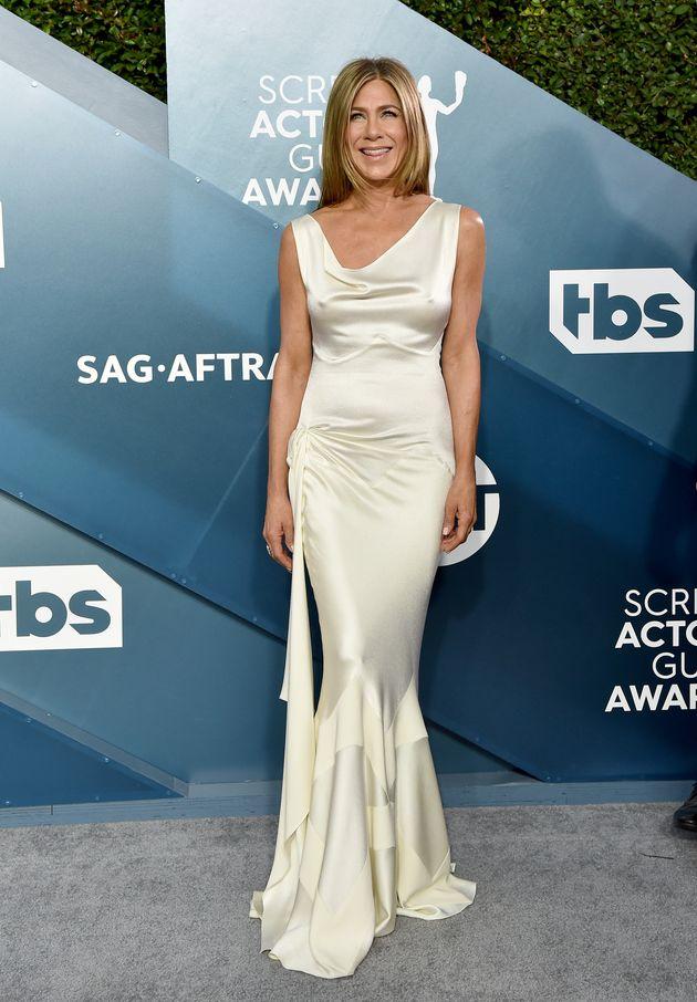 Jennifer Aniston at last year's SAG