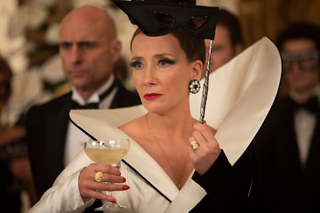 Emma Thompson as the Baroness in