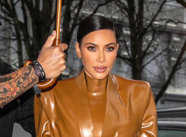 Kim Kardashian à Paris le 1er mars