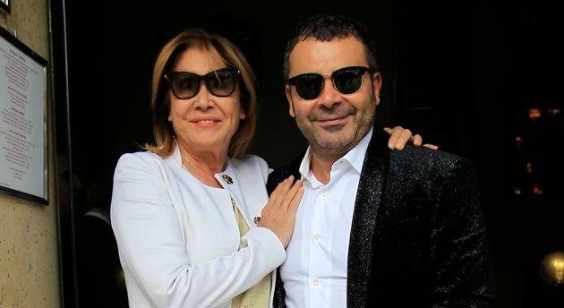La periodista Mila Ximénez con su amigo, el presentador Jorge Javier Vázquez en una foto de