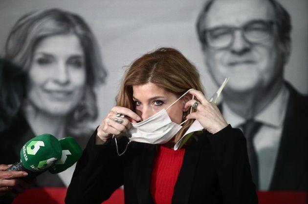 Hana Jalloul, el pasado 23 de abril, en un acto de