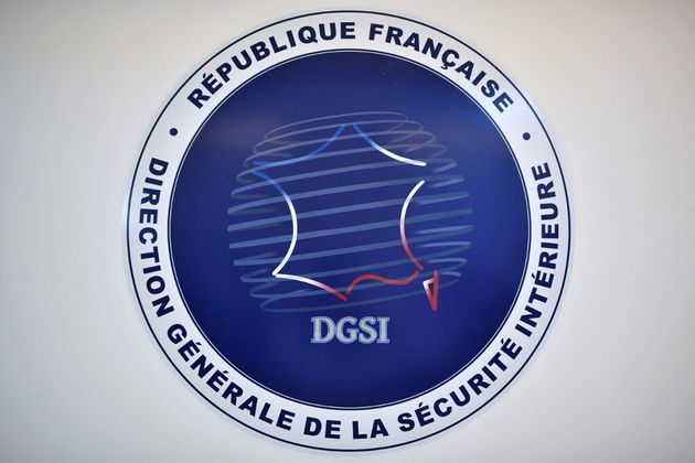 (photo d'illustration du logo de la DGSI prise en août