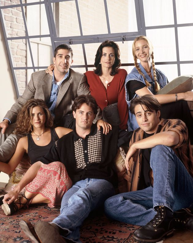 The Friends cast as they appeared in the first season in