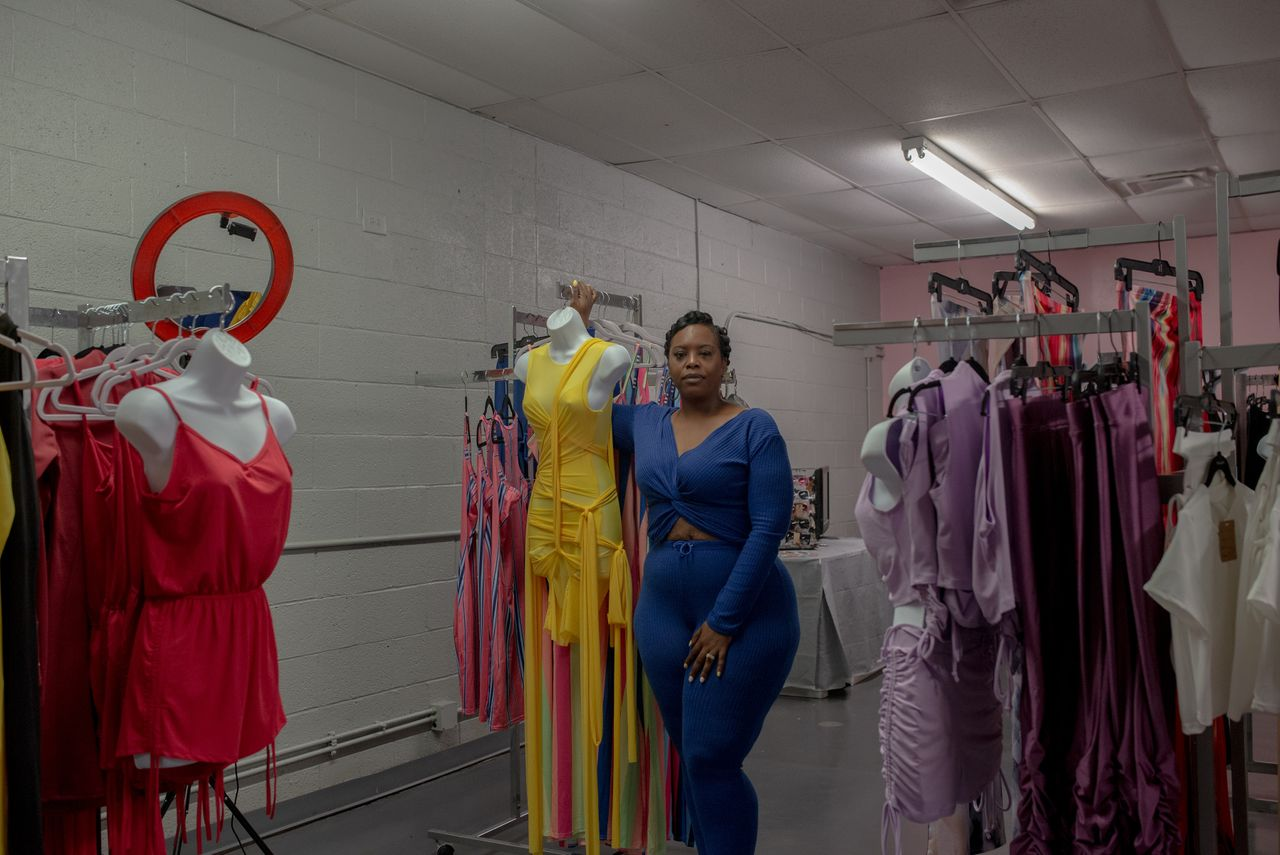 Cawanna DeLouiser opened her shop, Snaggz Boutique, in the Gibbs Shopping Center to show others the opportunity North Tulsa holds for the Black community.