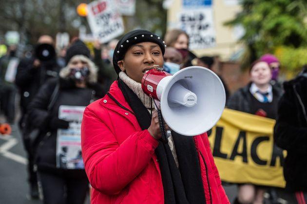 Black Lives Matter activist Sasha