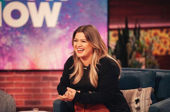 "Kelly Clarkson on the""The Kelly Clarkson Show."""