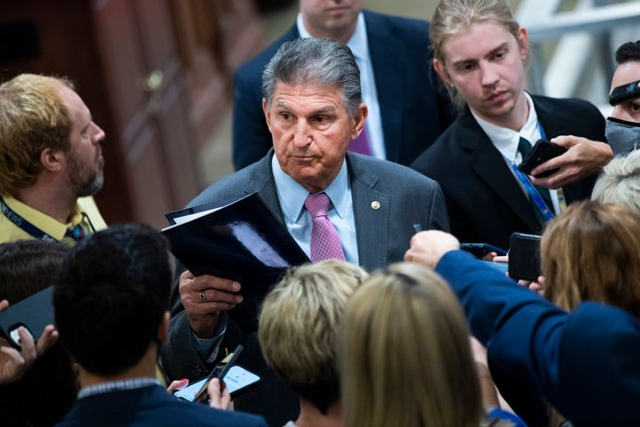 Sen. Joe Manchin (D-W.Va.) hoped that Republicans would not filibuster the Jan. 6 commission bill. But they did.