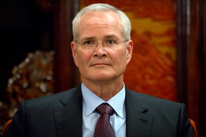 Exxon Mobil chairman and CEO Darren Woods suffered a major defeat Monday.